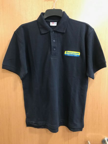 New Holland Navy Polo Shirt
